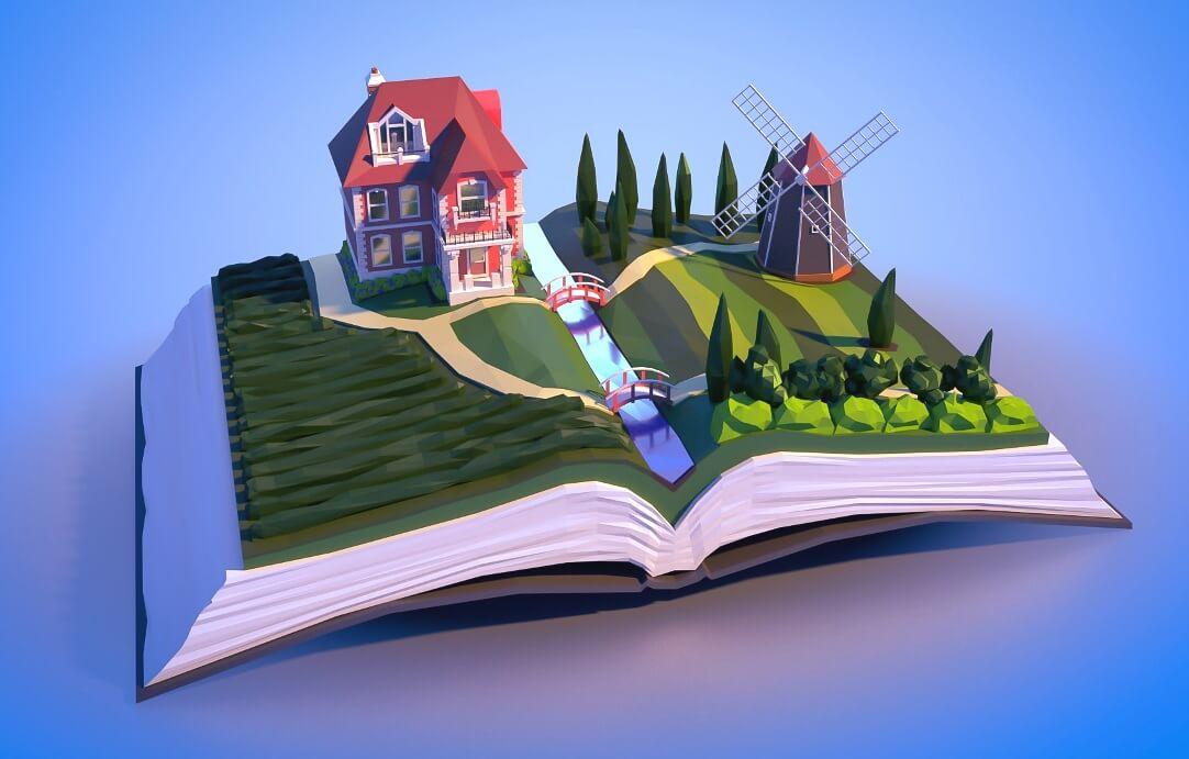 Книготоп. Иллюстрация к книге рождает в воображении читателя ощущение присутствия в самом сюжете, участия в событиях книги